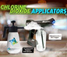 Spray Tools for Applying ClO2